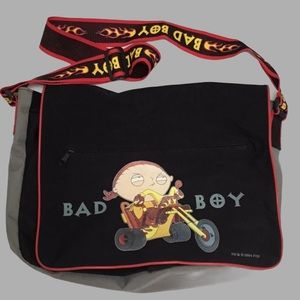 FAMILY GUY STEWIE MESSENGER BAG